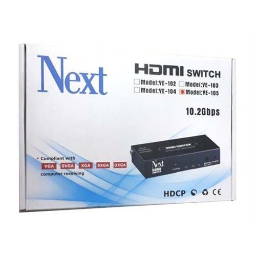 Next Ye-105 5X1 Hdmı Switch - 5 Port Kumandalı