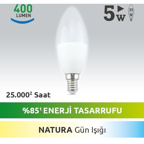 Next Led E14 LED Mum Ampul 5W DİM li Sıcak Nature