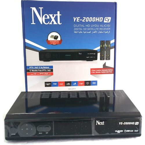 Next Ye-2000Hd Cx Full Hd Uydu Alıcısı